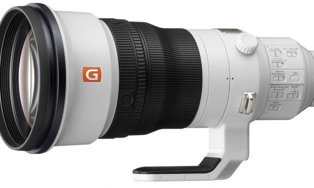 Sony präsentiert Super-Tele FE 400mm F2.8 GM OSS