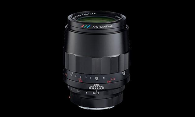 Voigtländer Macro Apo-Lanthar 110 mm / F2,5 für Sony E ab August erhältlich