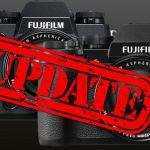 Für X-T2 und X-H1: Fujifilm veröffentlicht angekündigte Firmware-Updates
