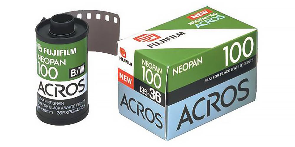 Bringt Fujfilm den Schwarzweißfilm Neopan 100 Acros zurück?