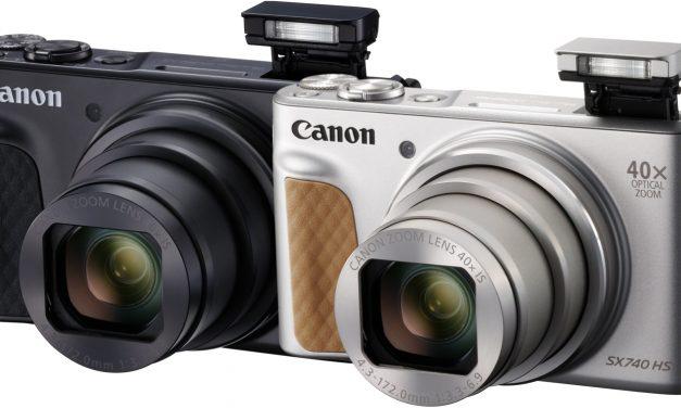 Canon bringt kompakten Superzoomer PowerShot SX740 HS
