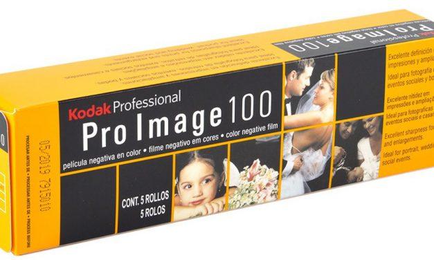 Farbnegativfilm Kodak Professional Pro Image 100 kommt nach Europa