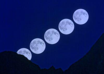 Mond Phasenfoto I