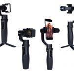 Neu von Rollei: Schwebestative für Smartphones und Actioncams