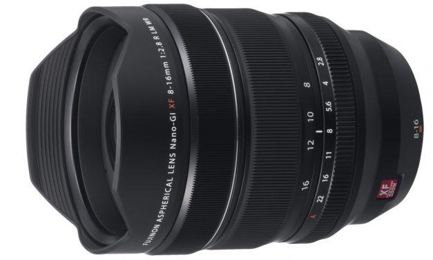 Fujifilm präsentiert Ultra-Weitwinkelzoom XF8-16mm F2.8 R LM WR