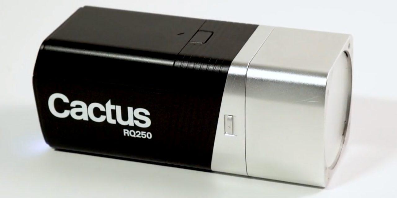 Modular, handlich, autonom: Kompaktblitz Cactus RQ250