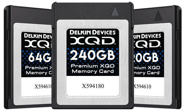 Neu von Delkin: XQD-Speicherkarten der zweiten Generation