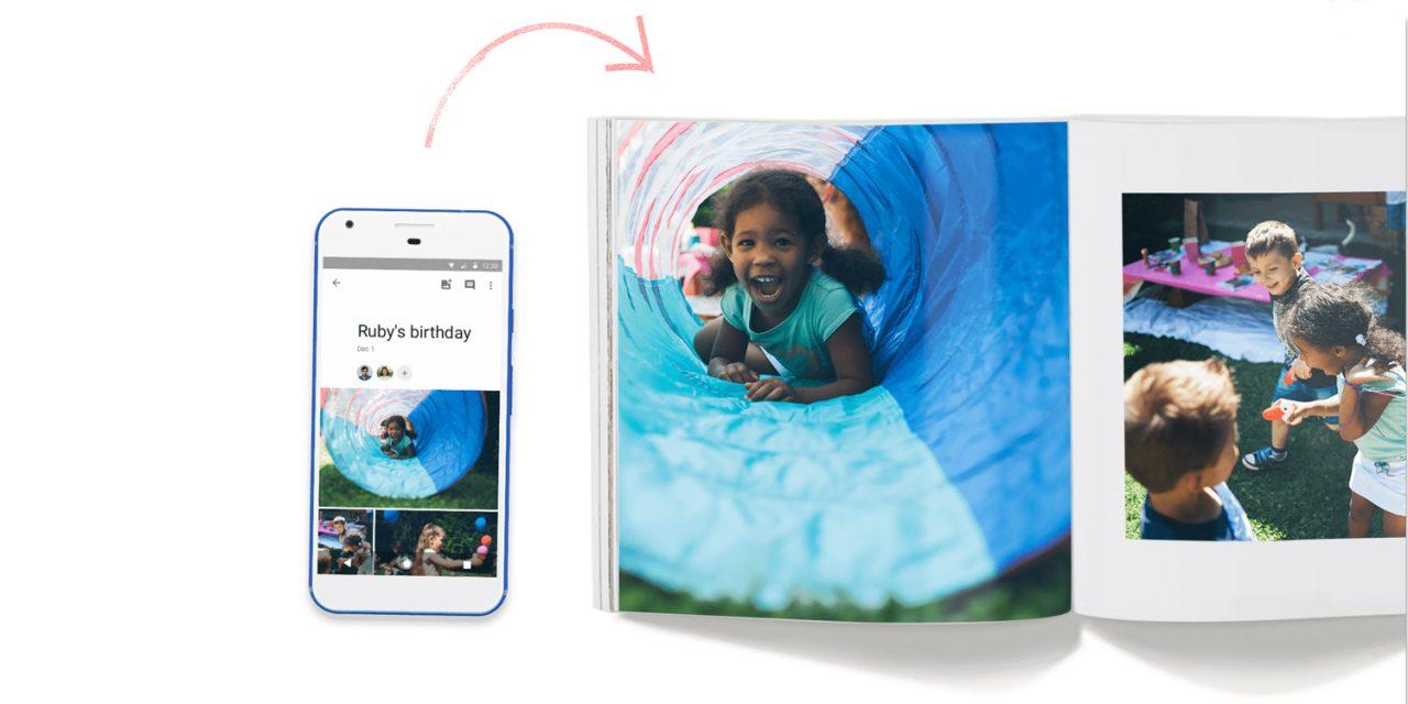 Neu von Google: Fotobuch-Service
