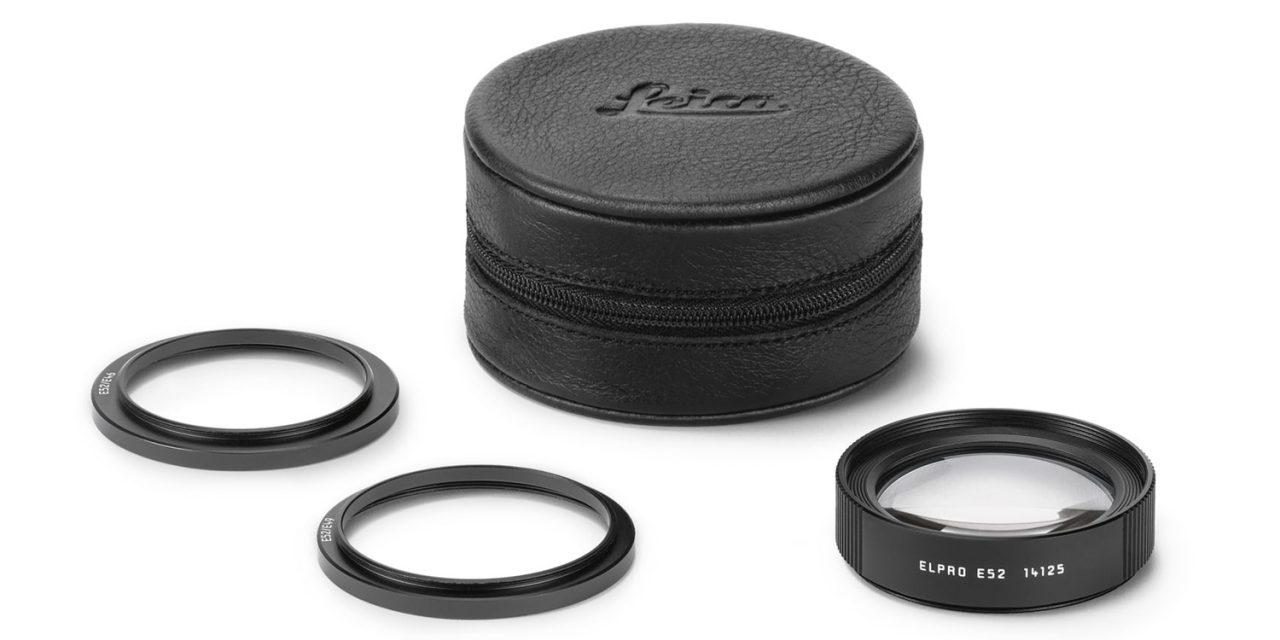 Neu von Leica: Makro-Linse Elpro 52 für M- und TL- Objektive