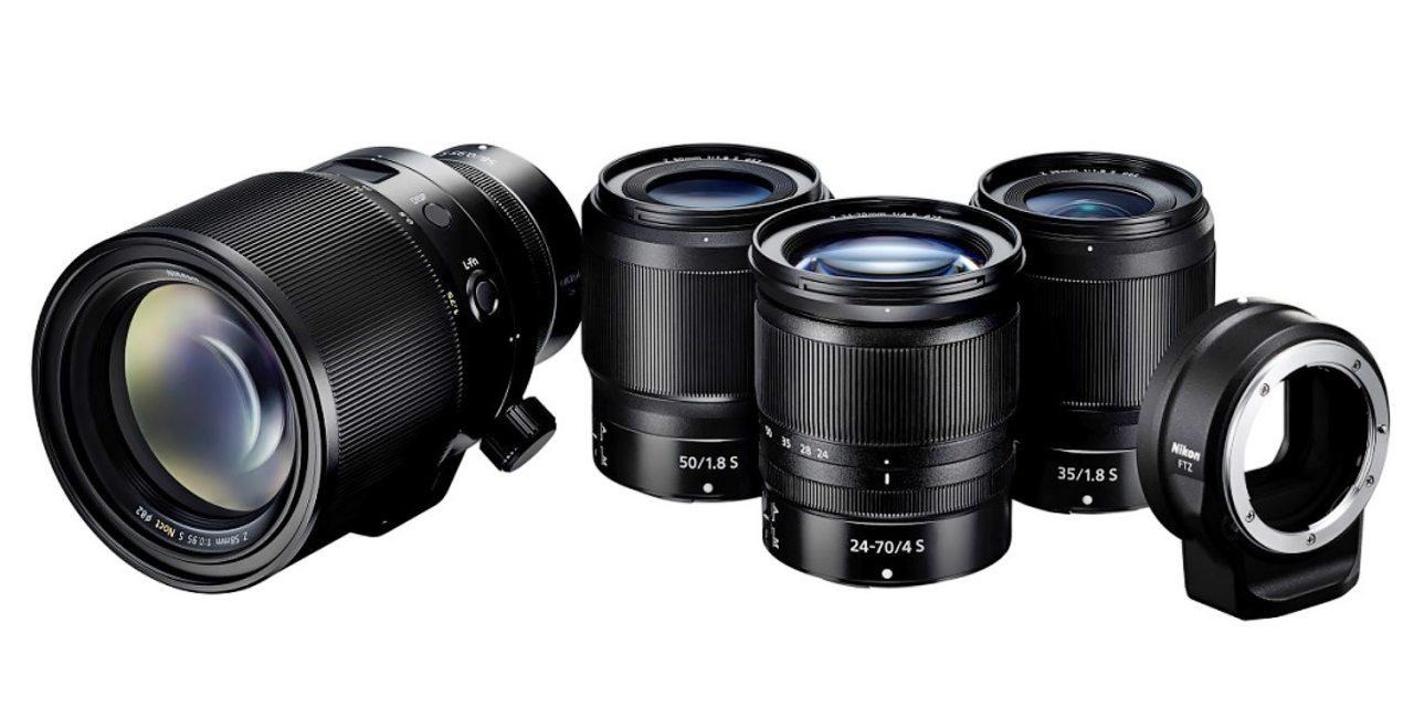 Nikon präsentiert drei neue Z-Objektive und kündigt Noct 58 mm F/0.95 an