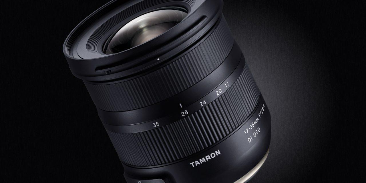 Neu von Tamron: 17-35mm F/2.8-4 Di OSD für Nikon und Canon