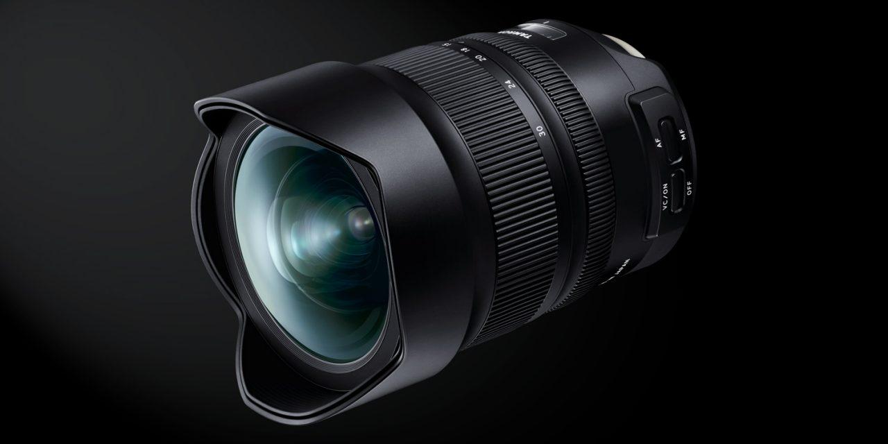 Tamron bringt neues Superweitwinkel-Zoom SP 15-30mm F/2.8 Di VC USD G2