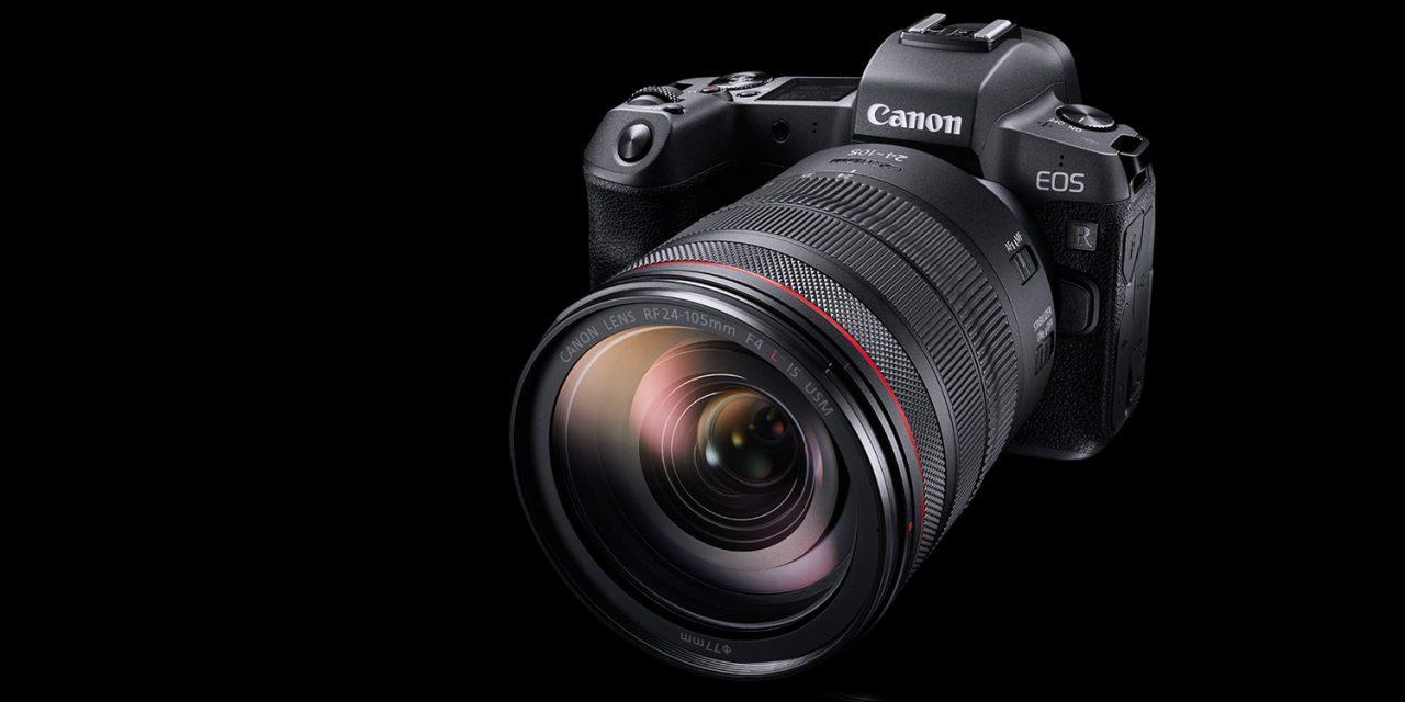 Canon steigt mit EOS R ins spiegellose Kleinbild ein (2x aktualisiert: Preise, Bilder, Spezifikation)