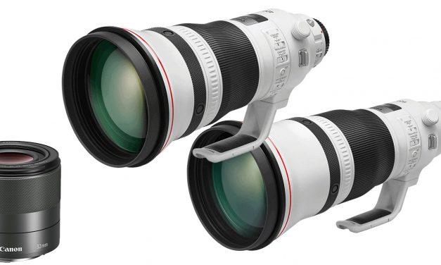 Neu von Canon: EF 400mm F/2.8, EF 600mm F/4 und EF-M 32mm F/1.4 STM