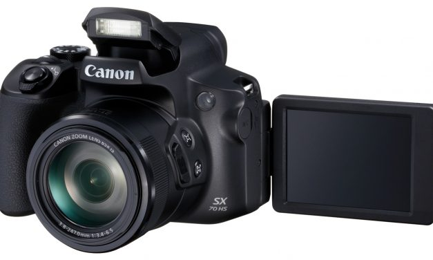 Canon PowerShot SX70 HS: Neue Bridge-Kamera mit 65fach-Zoom