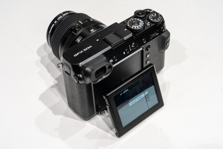 Fujifilm GFX50R liv