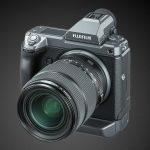 Fujifilm kündigt Entwicklung der Mittelformatkamera GFX100 mit Bildstabi an