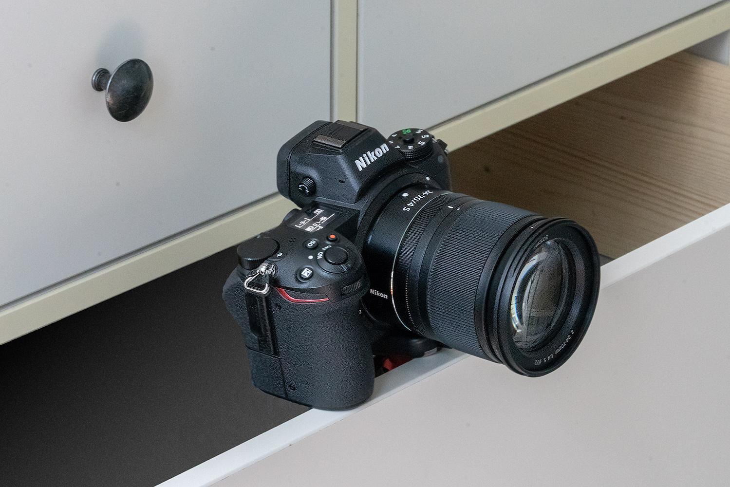 Nikon Z7 Schublade