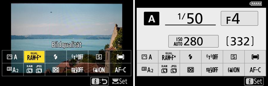 Nikon Z7 Screenshots