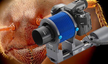 Novoflex Castel Micro: Elektronisch gesteuerter Einstellschlitten