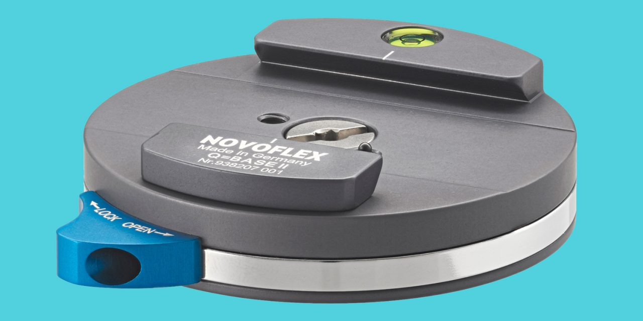 Novoflex Q=BASE II: Schlankheitskur für die Schnellkupplung