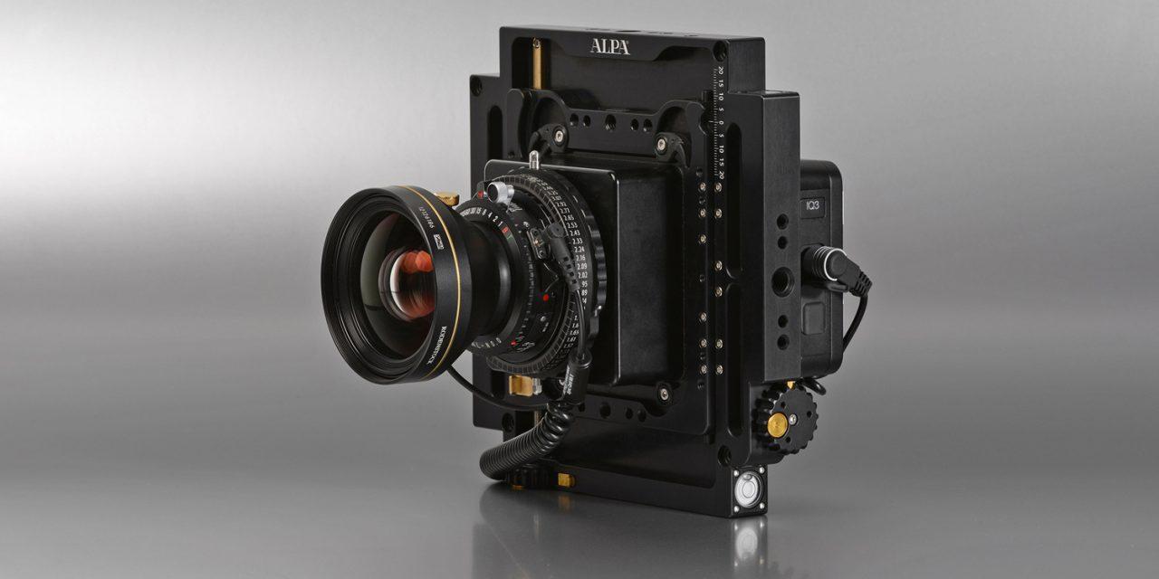 Alpa präsentiert quadratische Kamera Alpa 12 Plus
