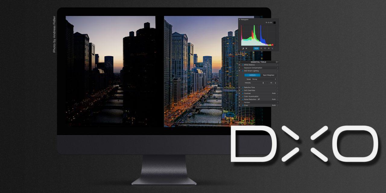 DxO veröffentlicht PhotoLabs 2: Bildverwaltung und U-Point-Integration verbessert