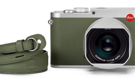 """Leica bringt Modell Q (Typ 116) als Sonderedition """"Khaki"""""""