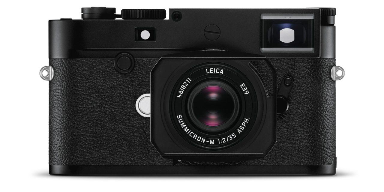 Leica M10-D: Aufs Wesentliche reduzierte Digitalkamera