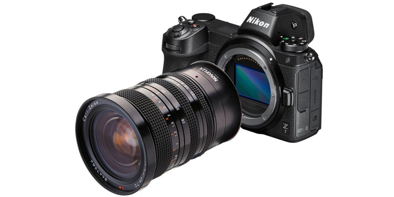 Novoflex adaptiert alte Objektive an Nikon Z und Canon EOS R