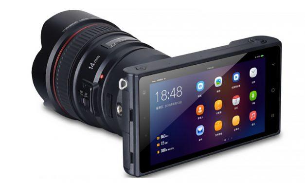 Yongnuo plant offenbar Systemkamera auf Android-Basis (aktualisiert: Technische Infos und neues Bild)