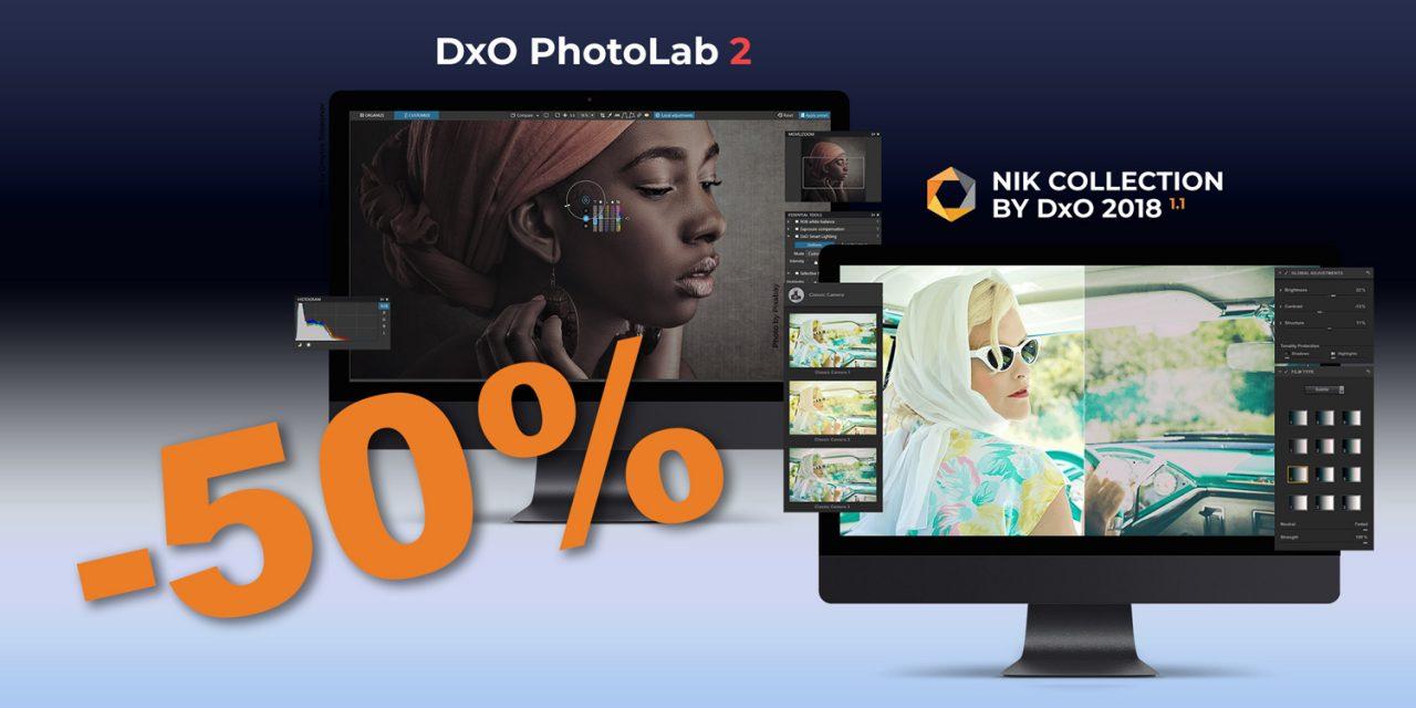 Black Friday bei DxO: PhotoLab 2 und Nik Collection 2018 zum halben Preis