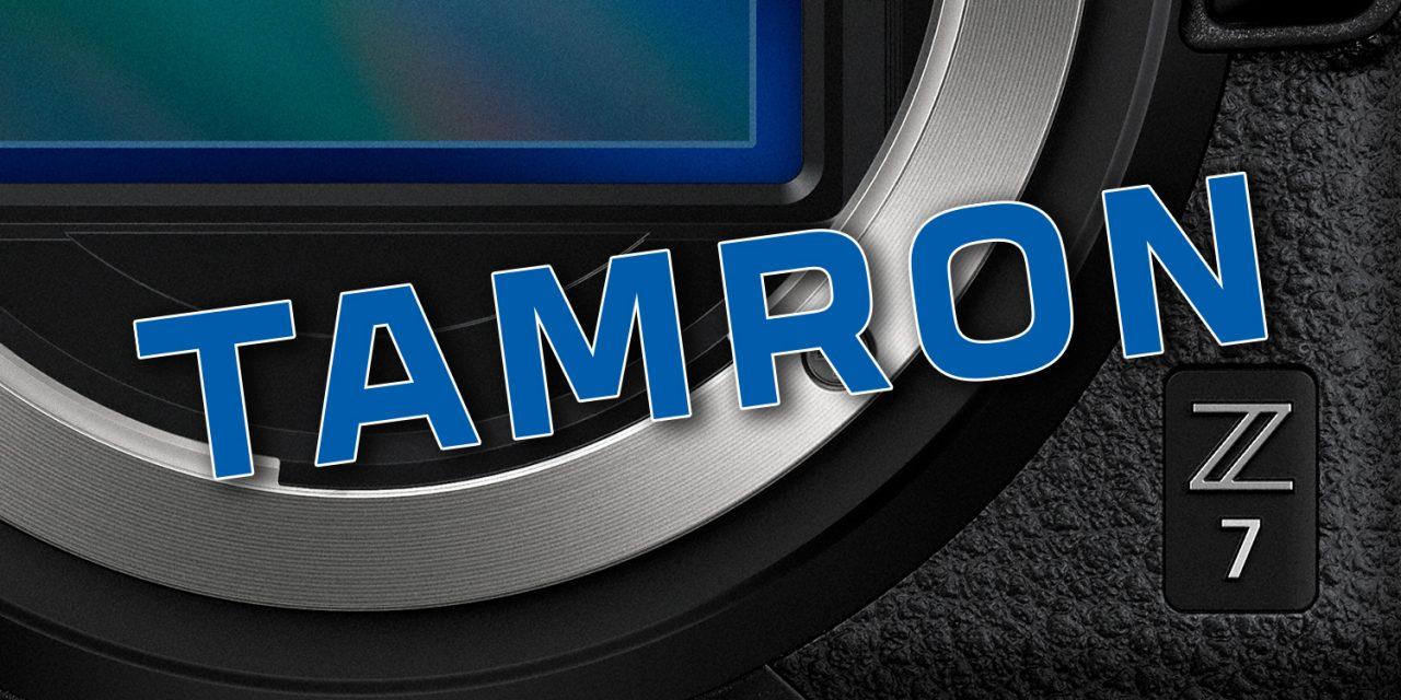 Tamron und Nikon: Einige Objektive funktionieren jetzt auch an der Nikon Z7
