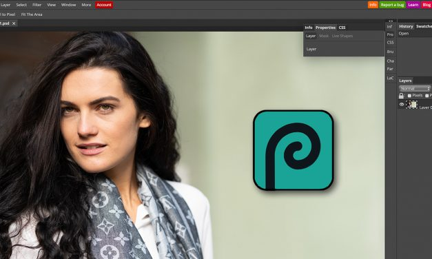 Photopea: Photoshop-Klon, der im Browser läuft