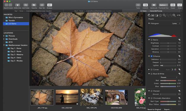 RAW Power 2.0 für Mac und iOS mit neuen Funktionen und Batch-Verarbeitung