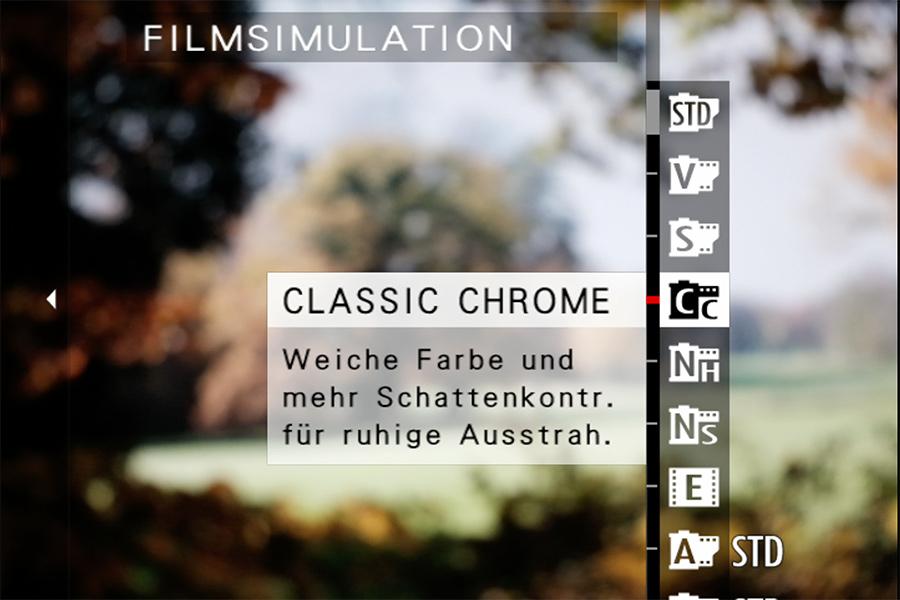 X-T3 Filmsimulation