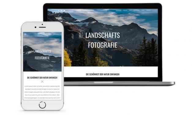 So erstellen Sie eine Fotografen-Website