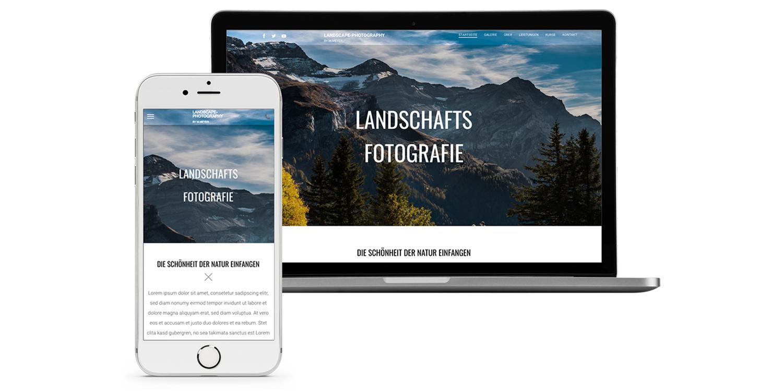 So Erstellen Sie Eine Fotografen Website Photoscala