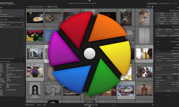 Darktable 2.6.0: Gratis-Raw-Konverter mit vielen neuen Funktionen erschienen