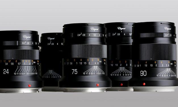 Kipon präsentiert fünf Festbrennweiten mit F/2.4 für Canon RF und Nikon Z