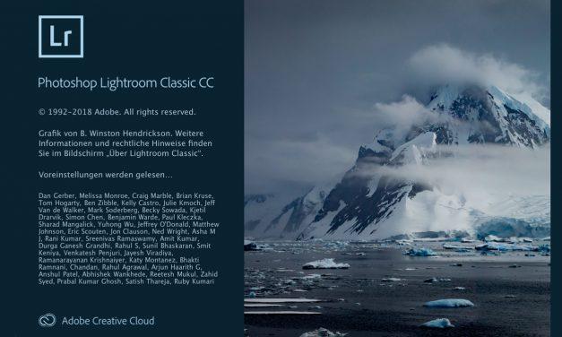 Neue Versionen: Adobe möbelt Lightroom CC Classic und Lightroom CC auf