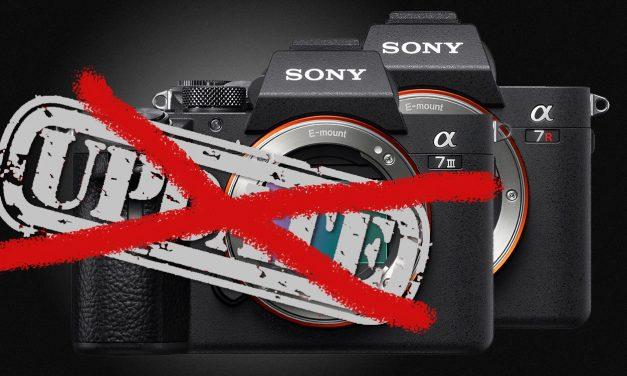 Sony zieht Firmware 2.0 für Alpha 7 III und Alpha 7R III zurück