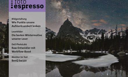 fotoespresso 6/2018 erschienen