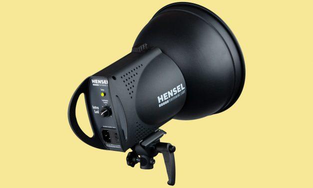 Hensel präsentiert Intra LED mit Systemblitz-Funktionalität
