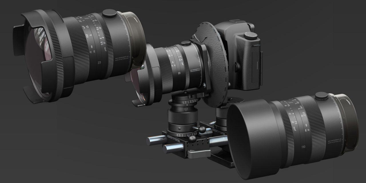 NWS Instruments präsentiert zwei Objektive mit großem Bildkreis und Akrobat™-Fachkamera (aktualisiert)