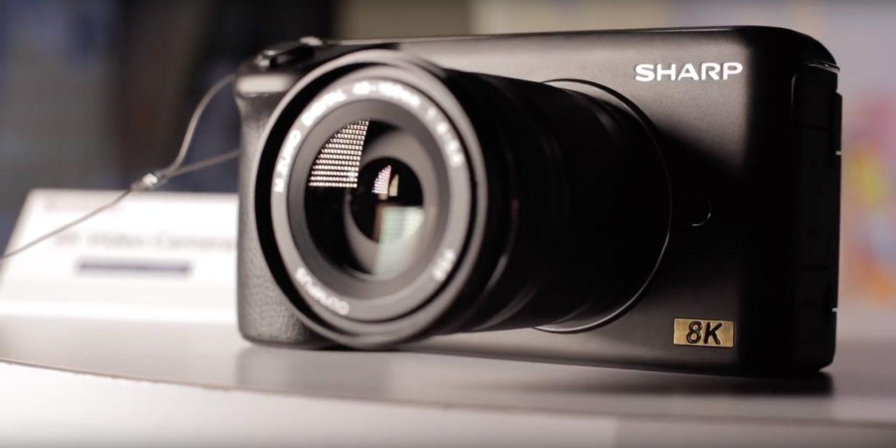 Sharp zeigt 8K-Kamera mit MFT-Sensor