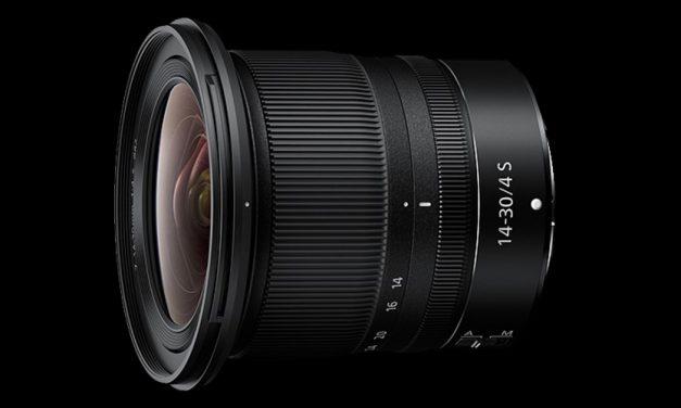 Neu von Nikon: Nikkor Z 14–30 mm 1:4 S, Firmware-Update für Nikon-Z-Kameras