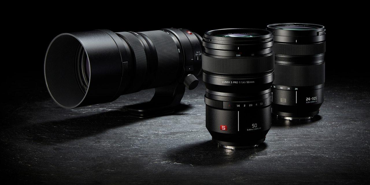 Neu von Panasonic: Drei Objektive zur Einführung der LUMIX-S-Serie