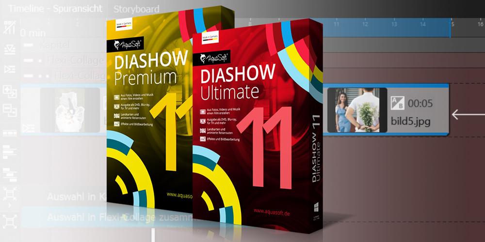 Aquasoft Diashow 11 mit neuen Funktionen für professionelle Präsentationen