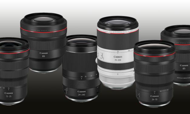 Canon EOS R: Sechs neue Objektive noch für 2019 geplant